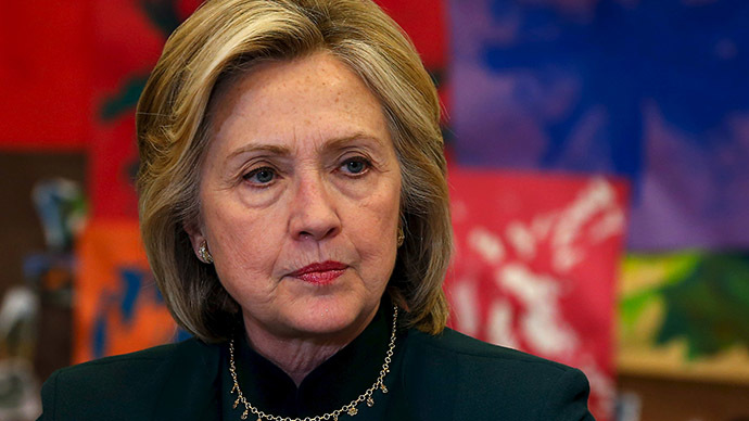 US presidential candidate Hillary Clinton. Credit: Reuters/Jim Young