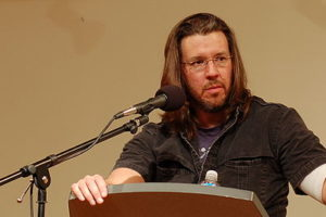 David Foster Wallace. Credit: Wikimedia Commons