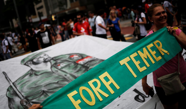 Violent Protests Against Austerity Erupt in Brazil