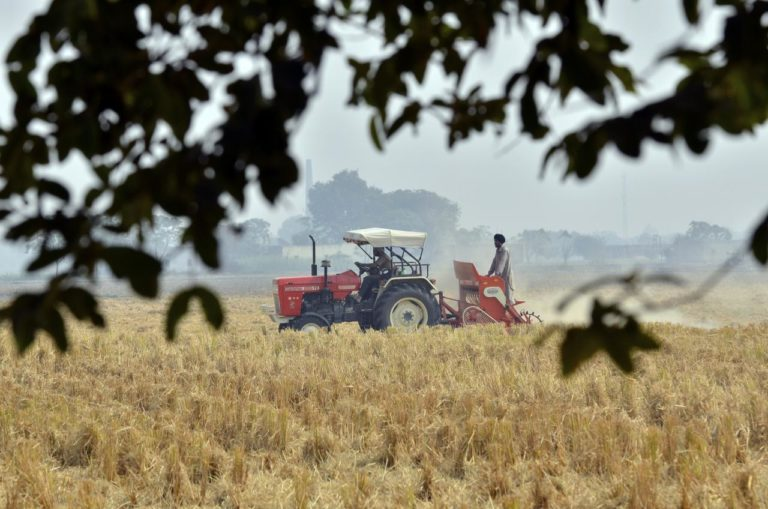Agricultural machinery can help solve the problem. Credit: Wikimedia Commons