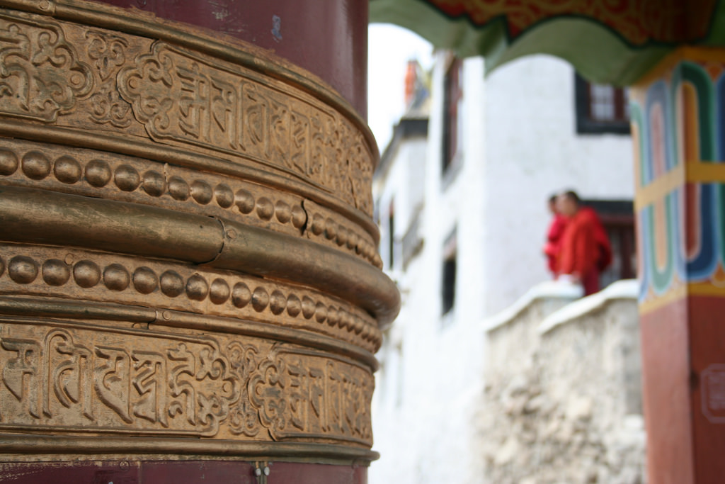 The Thiksey monastry in Ladakh. Credit: Michael Day/Flickr CC BY 2.0