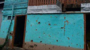 Damage in Neelum Valley. Credit: Amiruddin Mughal