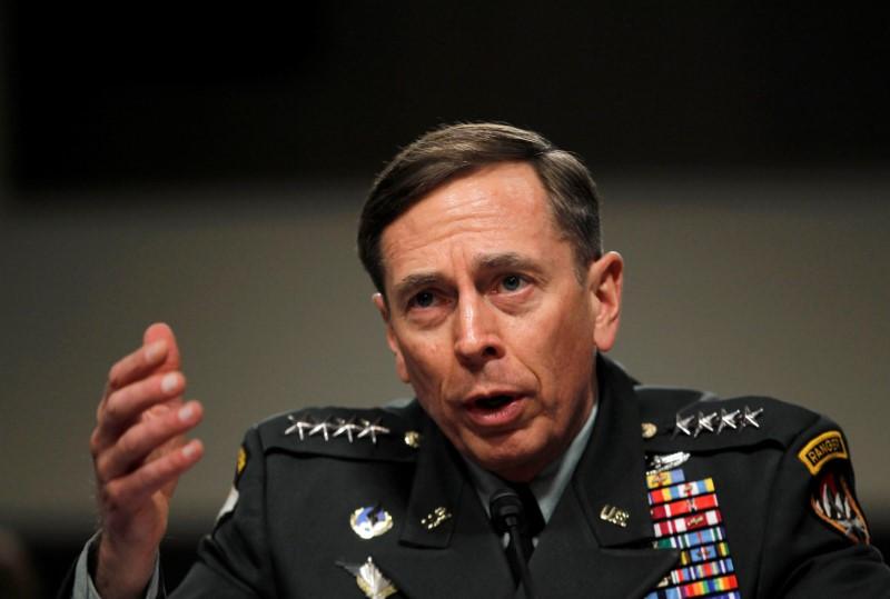 General David Petraeus. Credit: Reuters/Jason Reed/File Photo