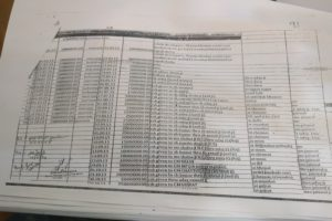 An excel sheet from the Sahara documents seized. Credit: Prashant Bhushan