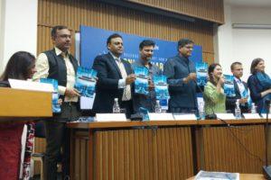 Panelists releasing the SFLC report. Credit: Jahnavi Sen