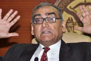 Former judge Markanday Katju. Credit: Reuters