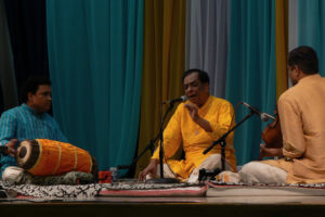 M. Balamuralikrishna performing in Birmingham, Alabama in 2007. Credit: balaji shankar venkatachari/Flickr CC BY-NC 2.0