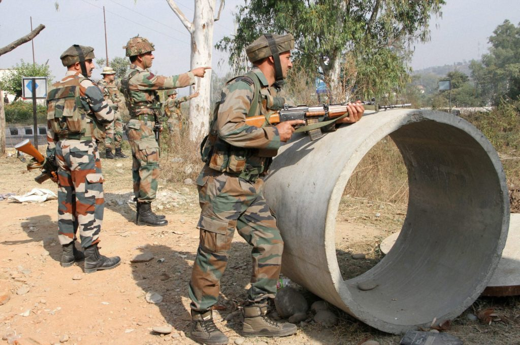 Seven Soldiers Killed in Militant Attack on Army Unit in Nagrota