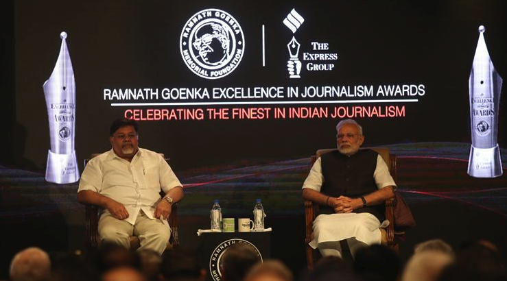 Modi Handing out the Ramnath Goenka Awards Is an Ironic Moment for Indian Journalism