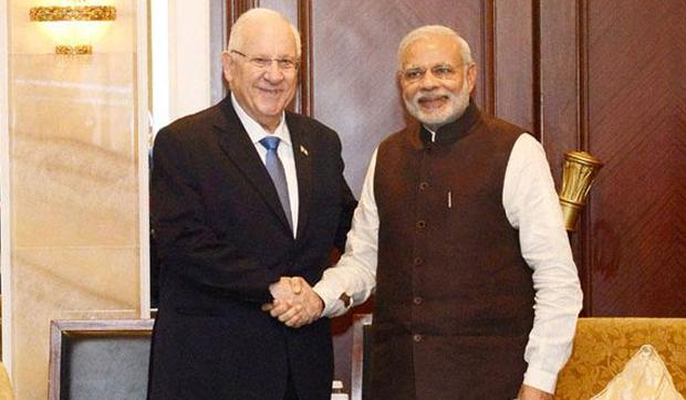 Defence Ties Top Agenda of Israeli President's Visit to India