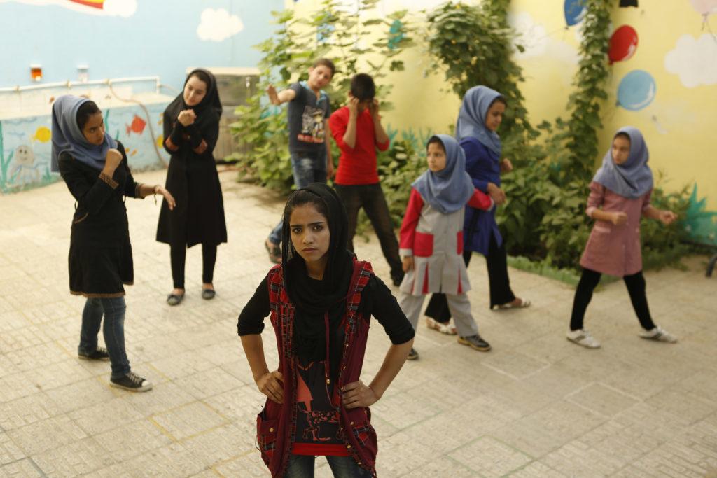 A still from <em>Sonita</em>.