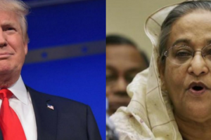 The Shekhi Hasina government is pleased Donald Trump will be the next US president. Credit: Reuters