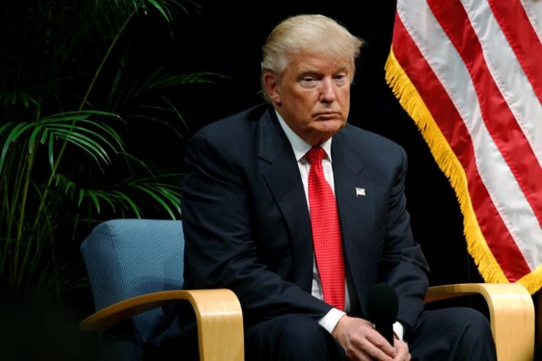 Though Trump's campaign was full of contradictions, he was in a somewhat unique situation – he did not need to resolve the contradictions to keep his support base. Credit: Reuters/Jonathan Ernst