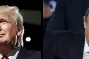 Donald Trump and Vladimir Putin. Credit: Reuters