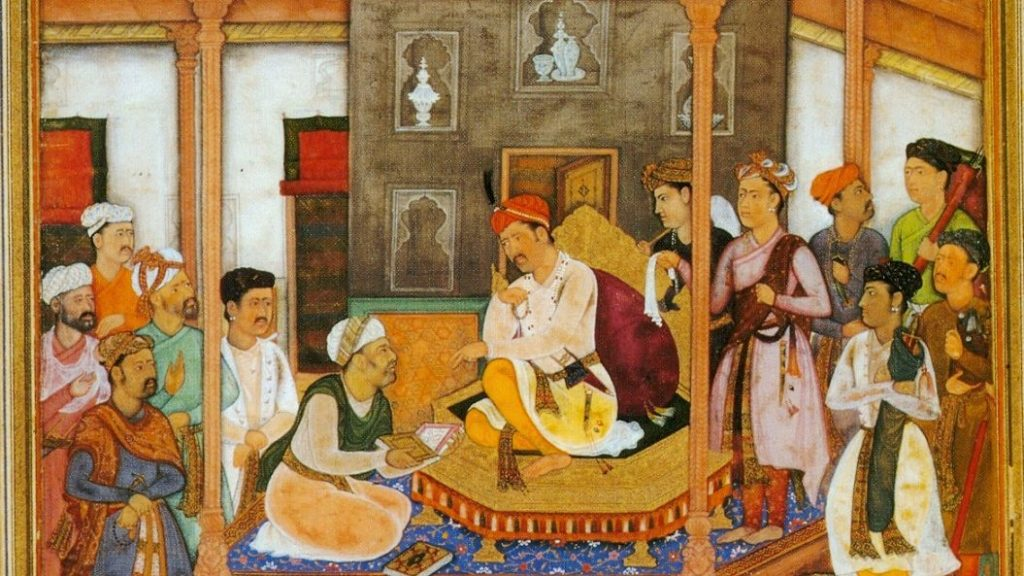The Brahman in the Mughal Court