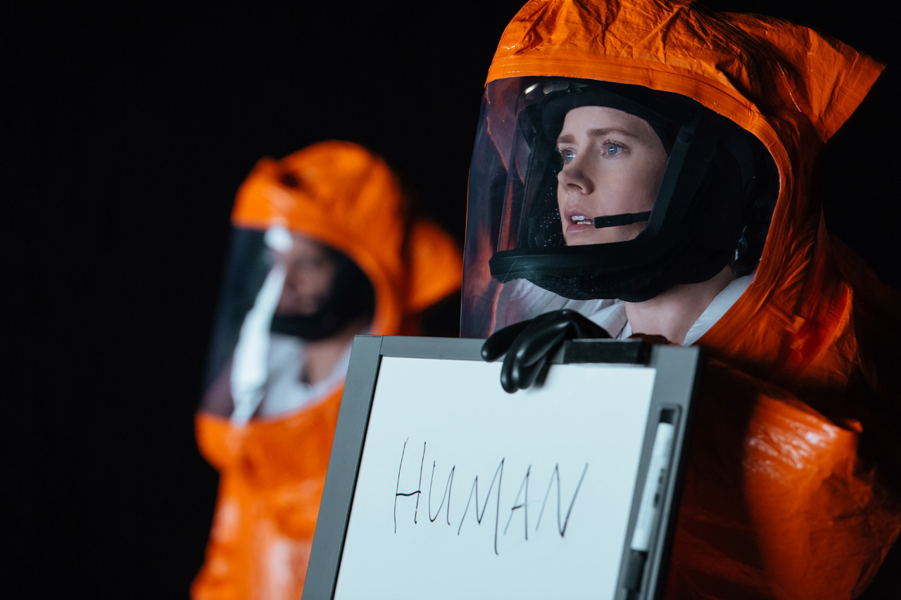 A scene from the film 'Arrival' (2016). Credit: Paramount Pictures