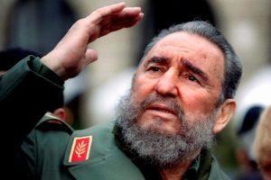 File picture of Fidel Castro .   REUTERS/Charles Platiau/Files