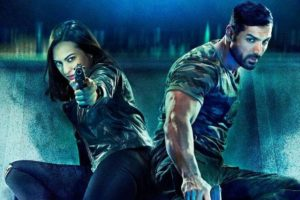 John Abraham and Sonakshi Sinha in a still from Force 2.