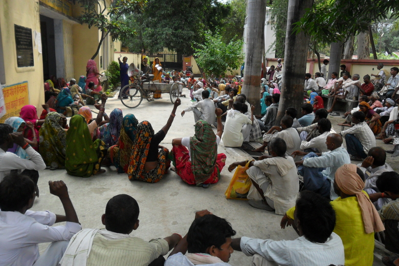 MGNREGA Workers Demand Their Wages Now