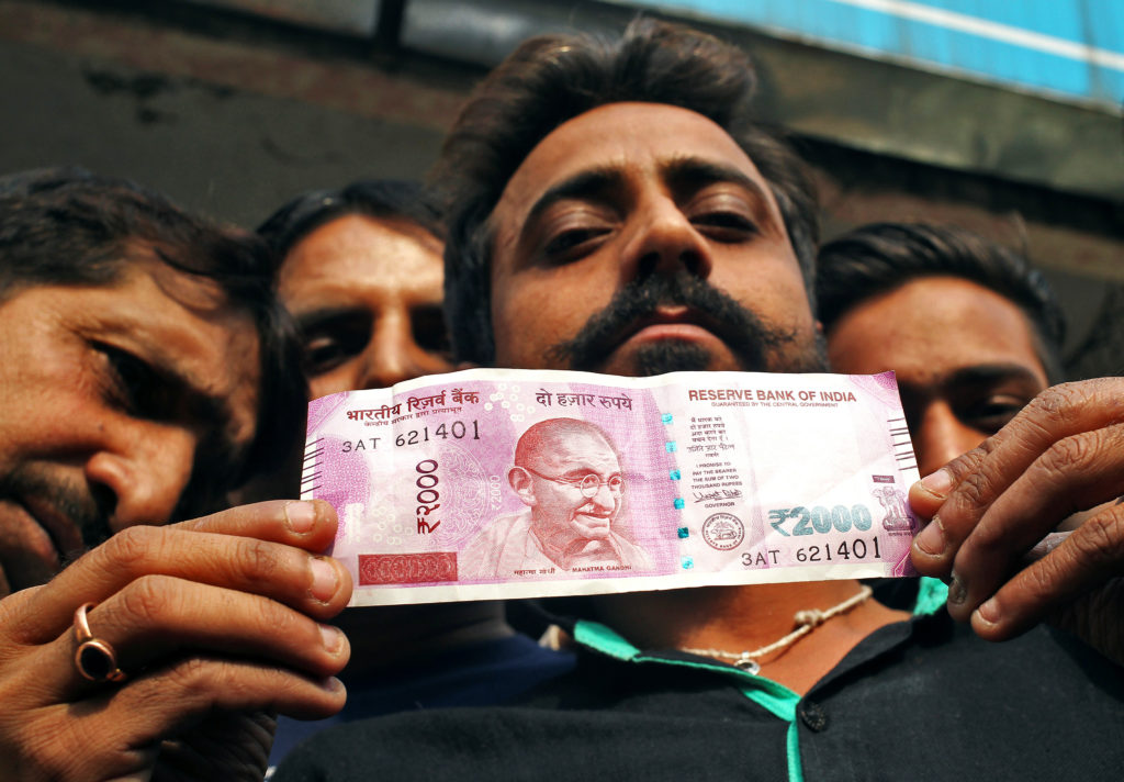 India's Currency Exchange Gamble and the Curse of Cash