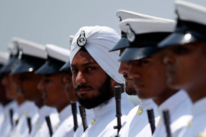 File photo of naval personnel. Credit: Reuters
