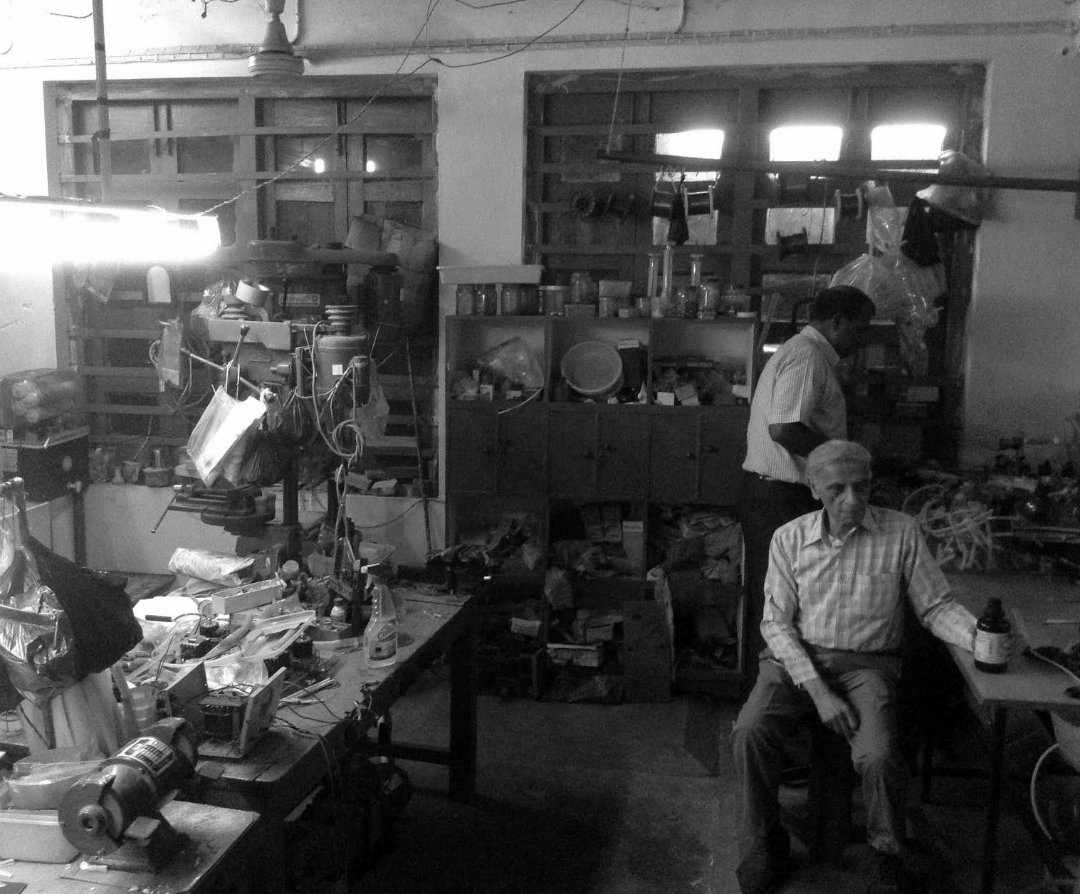 Prof. Sujoy Guha in his lab. Credit: Sohini Chattopadhyay