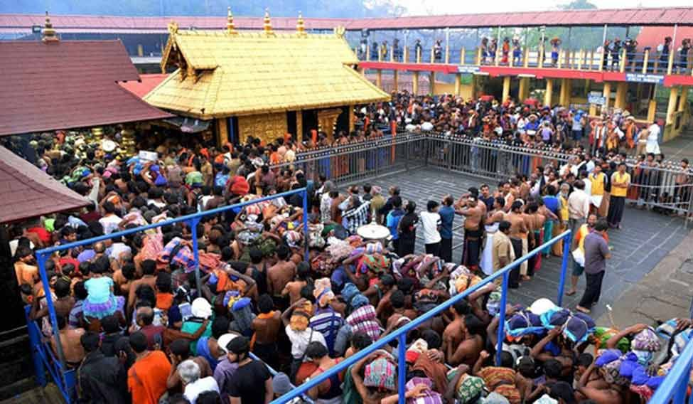 Sabarimala Temple to Open Today Evening