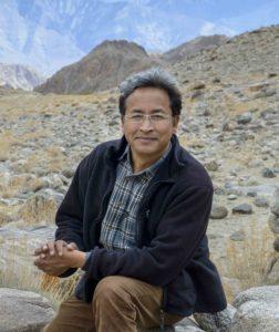 Sonam Wangchuk. Credit: Rolex Awards