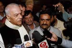 Yashwant Sinha-led delegation winds up Kashmir visit. Credit: Twitter