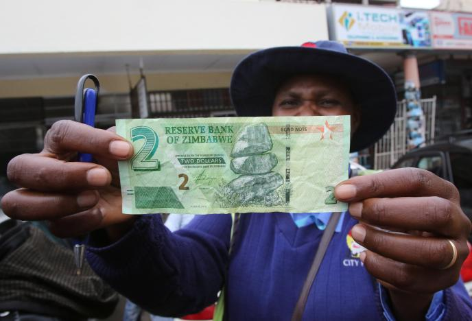 Zimbabwe Launches 'Bond Notes' To Ease Cash Crunch