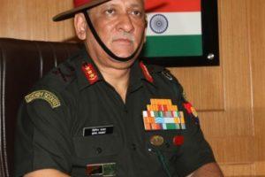 Lieutenant General Bipin Rawat, India's next army chief. Credit: PTI
