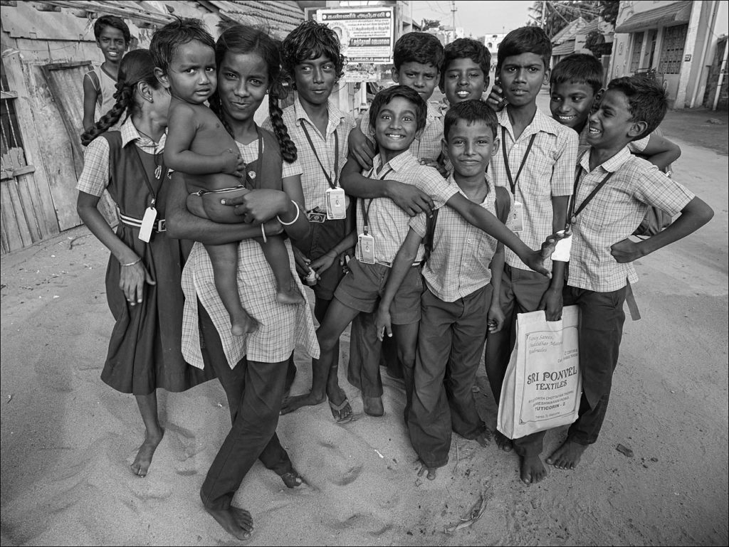 Schoolchildren in Tamil Nadu. Crdit: Romtomtom/Flickr CC 2.0