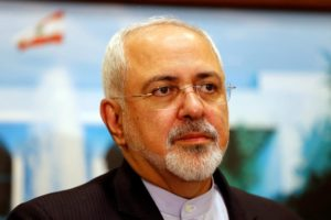File photo of Iran's foreign minister ,Mohammad Javad Zarif. REUTERS/Mohamed Azakir