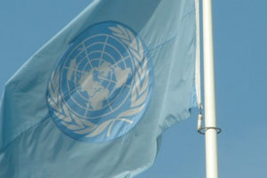 UN flag. Credit: Stefano Costa/Flickr, CC BY-SA 2.0
