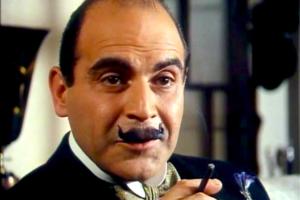 David Suchet as Hercule Poirot. Credit: Jose Camões Silva/Flickr CC BY 2.0