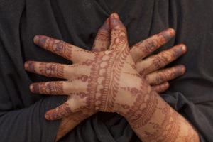Hand on heart. Credit: Meena Kadri/Flickr CC 2.0