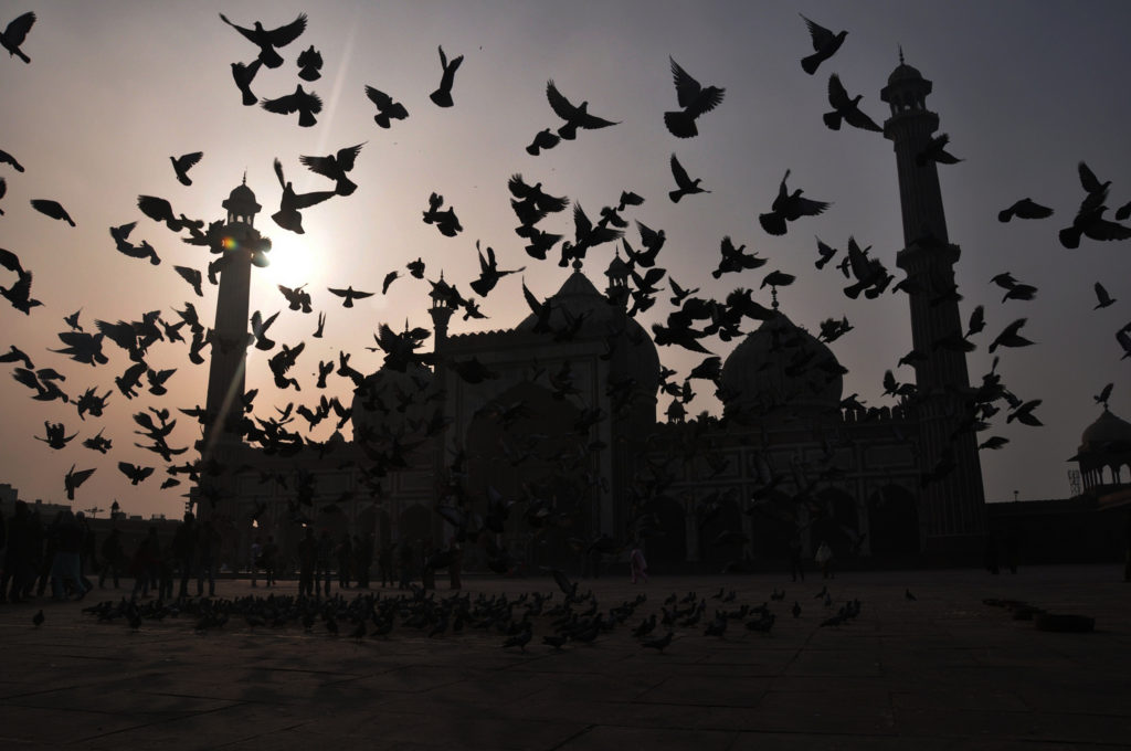 The Jama Masjid. Credit: Sourav Das/Flickr CC BY 2.0