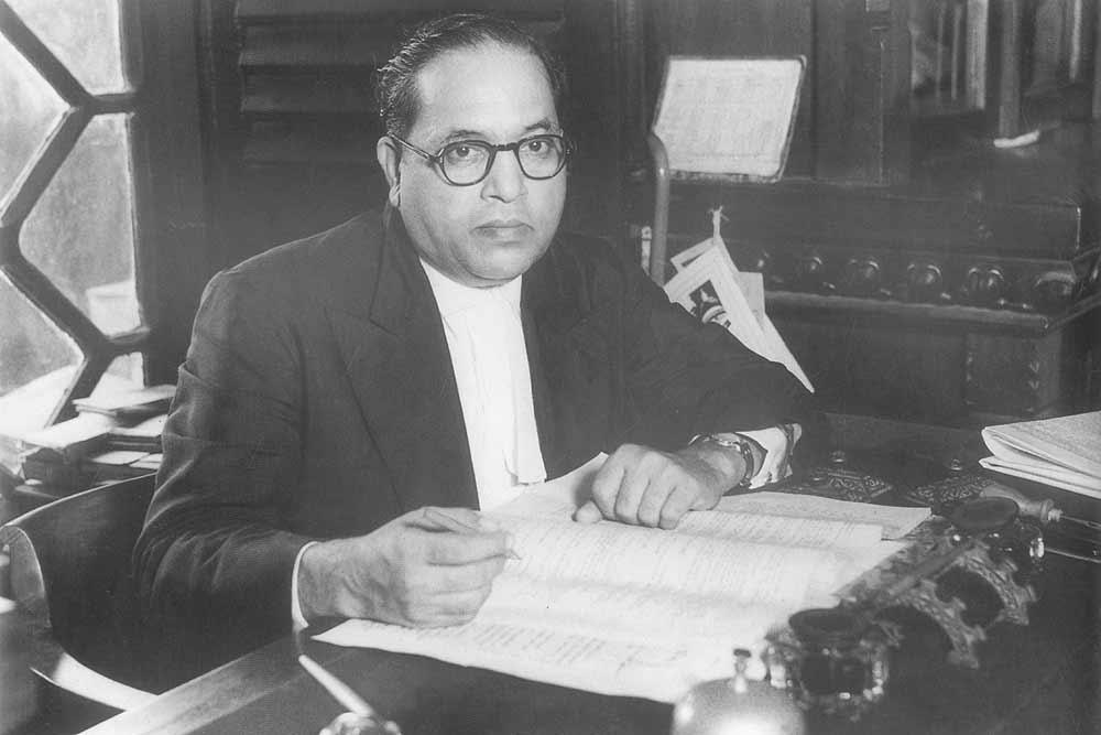 B.R Ambedkar. Credit: Wikimedia Commons