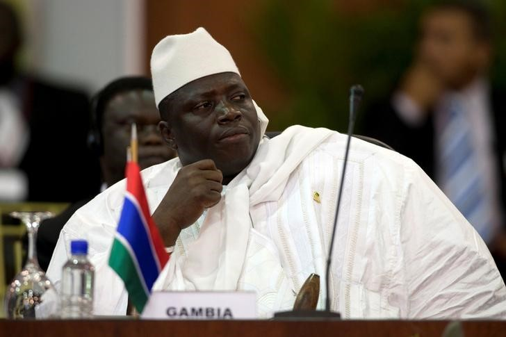Gambia President Yahya Jammeh Rejects Election Outcome
