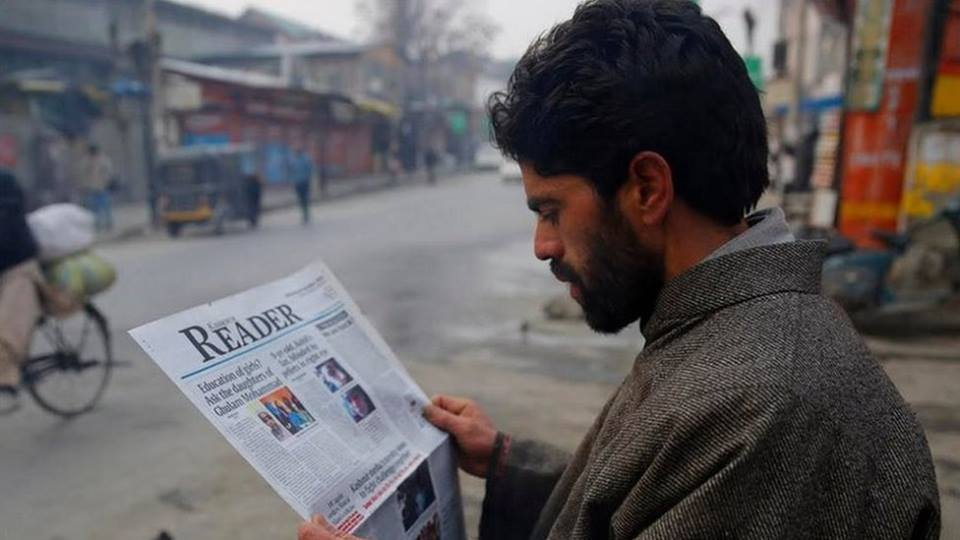 'Kashmir Reader' Hits Stands Again After Three-Month Ban