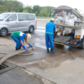 Mechanised transport and treatment of sludge in Malaysia. Credit: Faecal Waste Management in Smaller Cities across South Asia: Getting Right the Policy and Practice