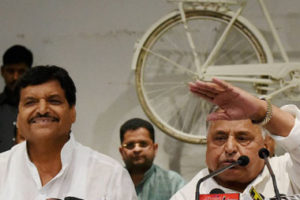 Samajwadi Party and its cycle are now in crisis. Credit: PTI