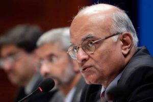 Former national security advisor Shivshankar Menon. Credit: Reuters