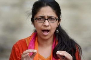 Swati Maliwal, head of the Delhi Women's Commission. Credit: PTI