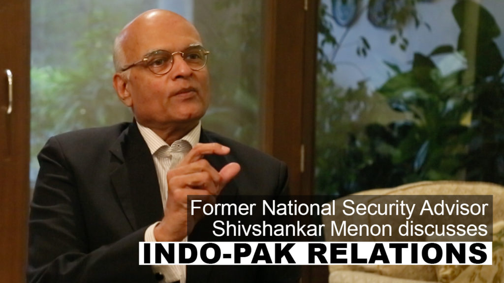 Menon: 'Not Talking Actually Empowers Those in Pakistan Who Mean India Harm'