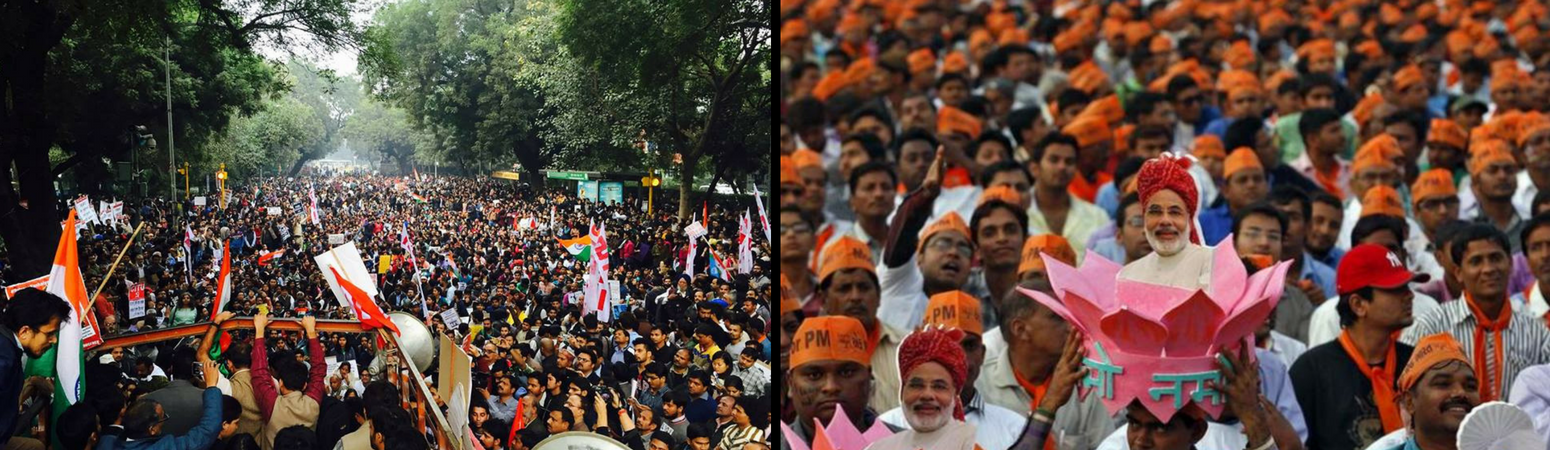 The Year That India Stood On Two Diverging Roads