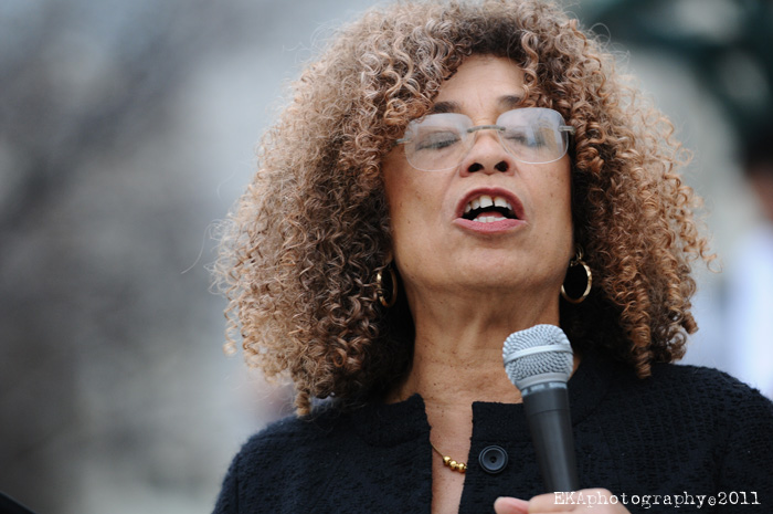 Angela Davis. Credit: Oakland Local/Flickr (CC BY-NC-ND 2.0)
