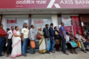 Axis Bank is built on a shaky house of cards. Credit: Reuters