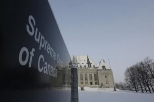 A view shows the Supreme Court of Canada in Ottawa February 6, 2015. Credit: Reuters/Chris Wattie