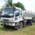 Mechanised de-sludging operation in Malaysia. Credit: Faecal Waste Management in Smaller Cities across South Asia: Getting Right the Policy and Practice